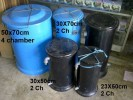 Filter Tabung D50x70cm (media Crystal bio)